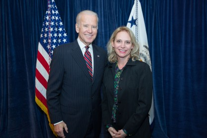 Photo with VP Biden